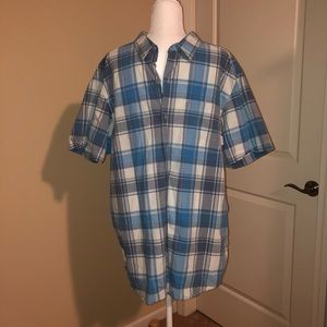Columbia short sleeve button down